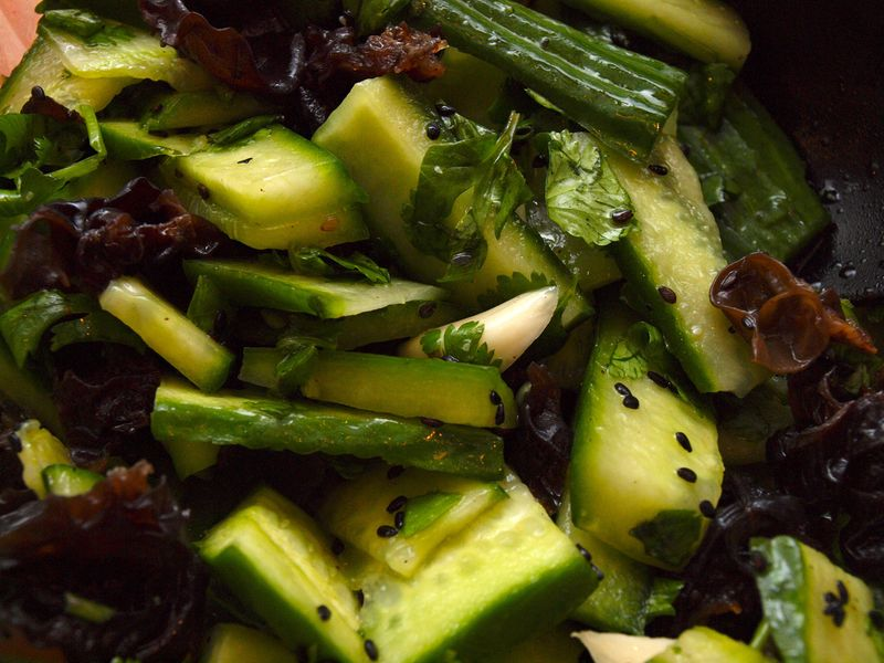 Chinese Cucumber Salad 黄 瓜 (Mary Makes Good: Ideas for a Happily ...