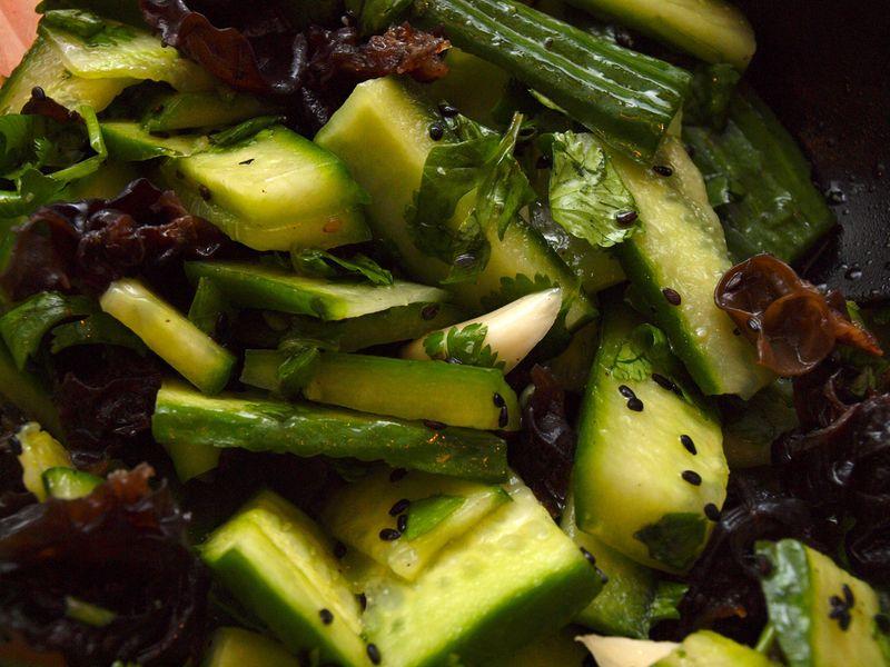 Chinese Cucumber Salad via @MaryMakesDinner | www.MaryMakesDinner.com
