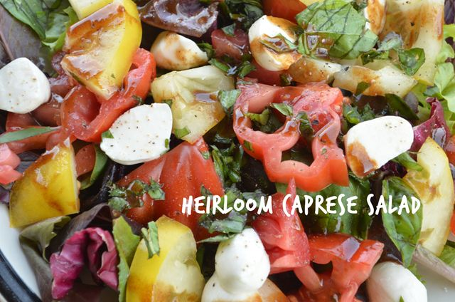 Heirloom Tomato Caprese Salad Recipe