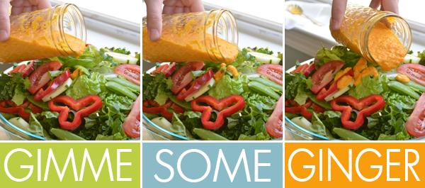 Restaurant Style Ginger Salad Dressing