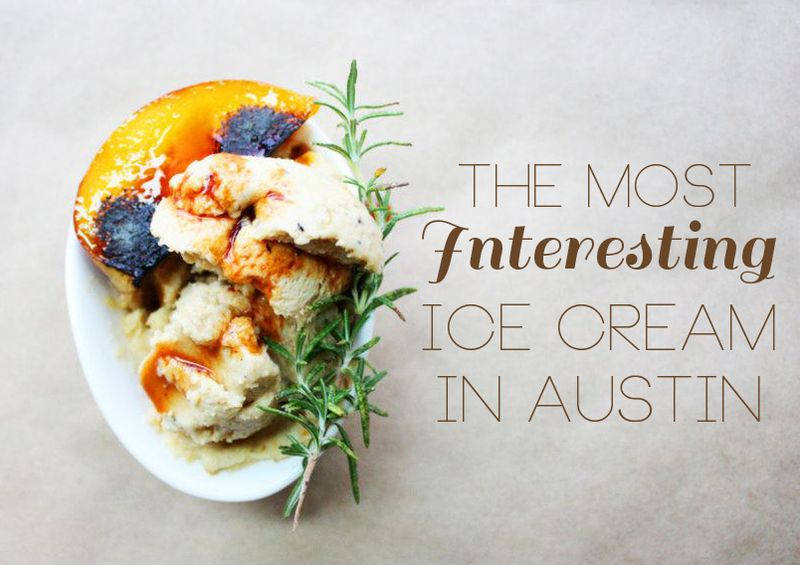 the best ice cream in Austin TX