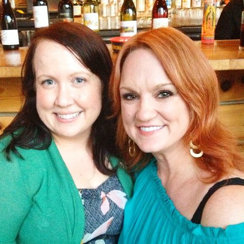 Here's Julie and P-Dub, lookin' adorable.