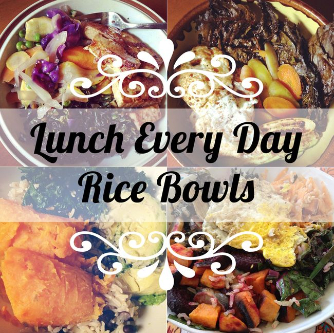 Veggie Rice Bowls via @MaryMakesDinner | www.MaryMakesDinner.com