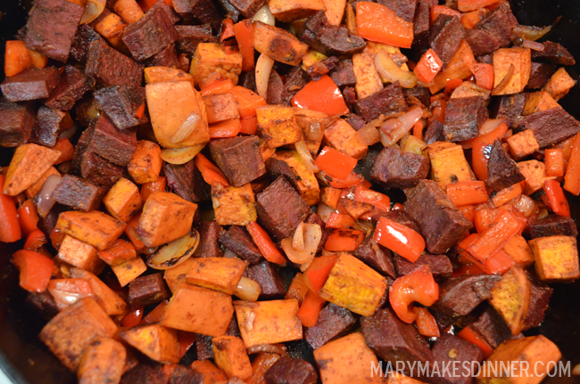 Roasted Sweet Potatoes with Chili & Lime via @MaryMakesDinner | www.MaryMakesDinner.com