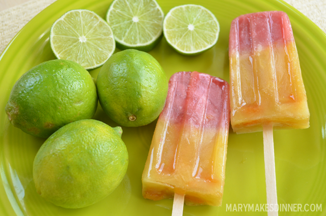 Ginger Madras Popsicles via @MaryMakesDinner | MaryMakesDinner.com