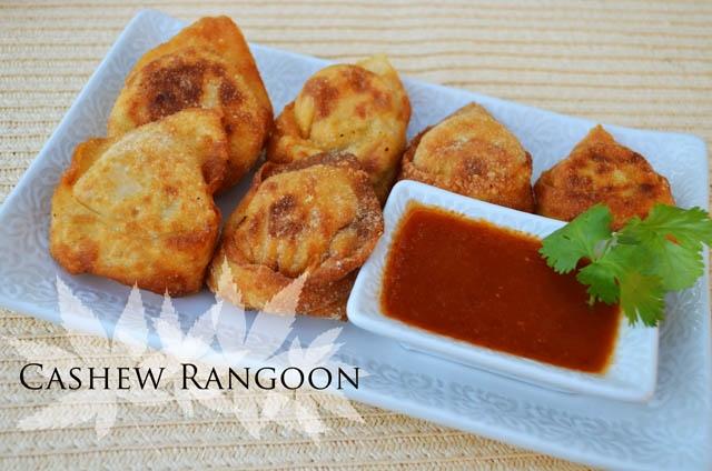 Vegan Cashew Rangoon | www.MaryMakesDinner.com