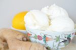 Ginger Meyer Lemon Ice Cream