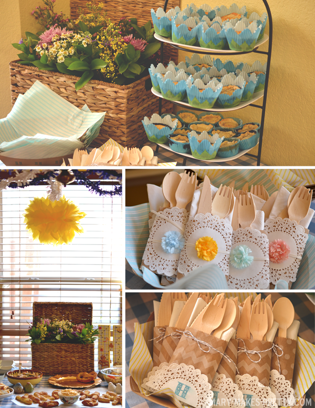Heathers Picnic Themed Bridal Shower Mary Makes Good Ideas for a