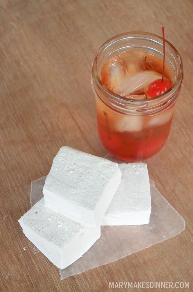Bourbon Cherry Marshmallows Recipe   Mary Makes Dinner