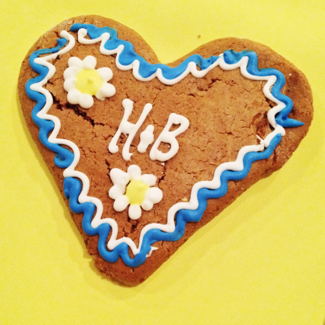 Heather and Ben's Oktoberfest Wedding Cookies