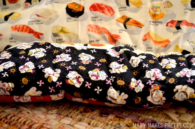 Sushi and Maneki NekoPlay Mat  | Mary-Makes-Pretty.com