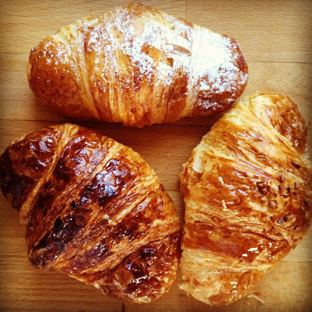 Croissants and Baguettes - I'm in Carb Heaven