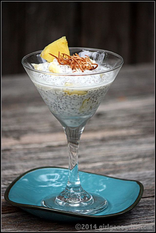 Pina Colada Chia Pudding | Guest Post by Girl Gone Grits | Mary Makes Dinner