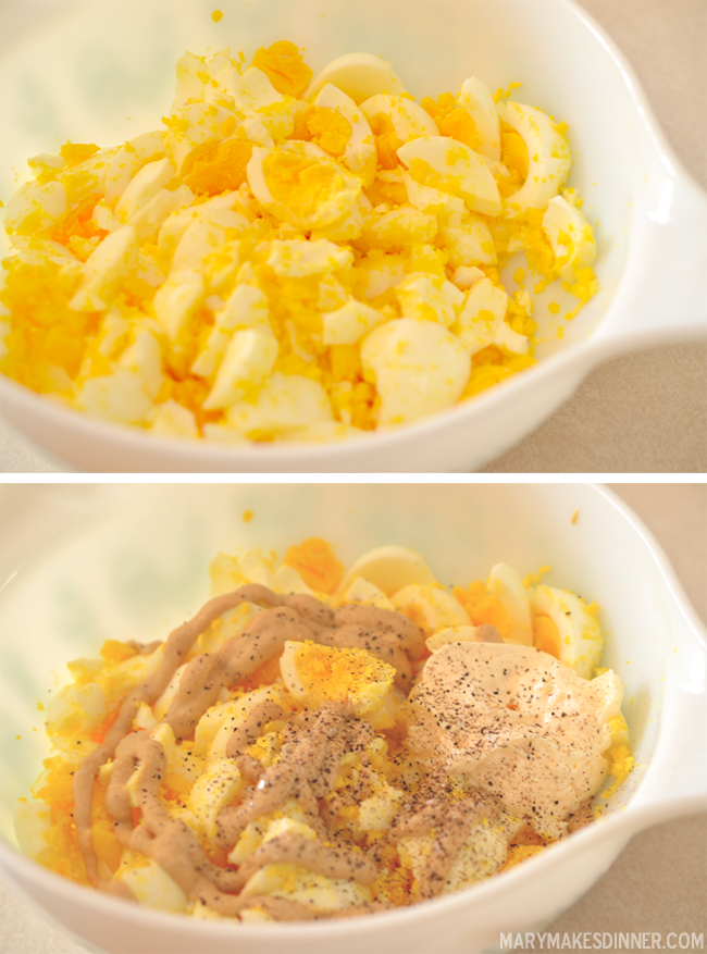 Egg Salad: Four Ways | MaryMakesDinner.com