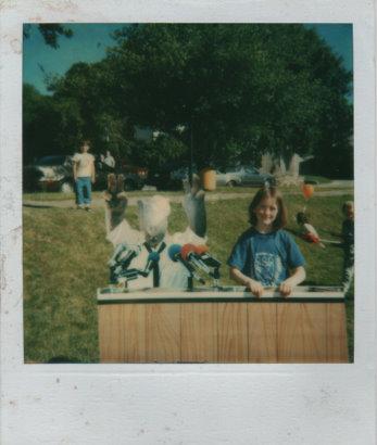 Me and Alf, circa 1987