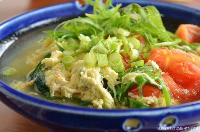 Beijing Style Egg & Tomato Soup Recipe | Mary Makes Dinner