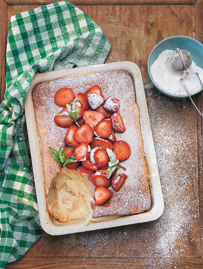 Sweet Oven Pancakes | Photo from Tina Nordstrom's Scandinavian Cooking (Used with permission)