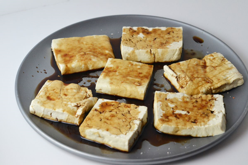 Grilled Tofu Salad Recipe | Recipe from Food Fetish | Mary Makes Dinner