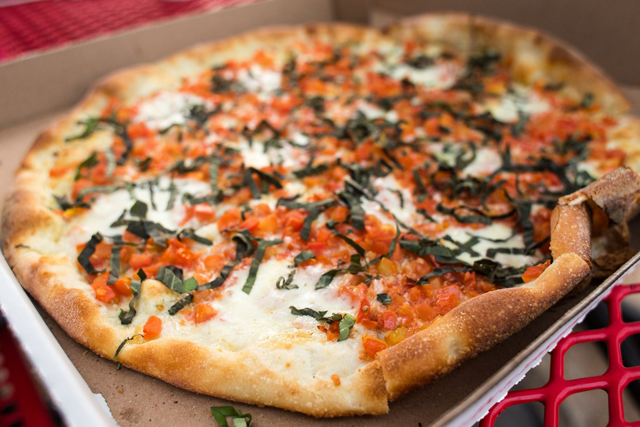 A Tri-State Native's Guide to New York Style Pizza in Austin, Texas   MaryMakesDinner.com   Photo by Nicolai McCrary