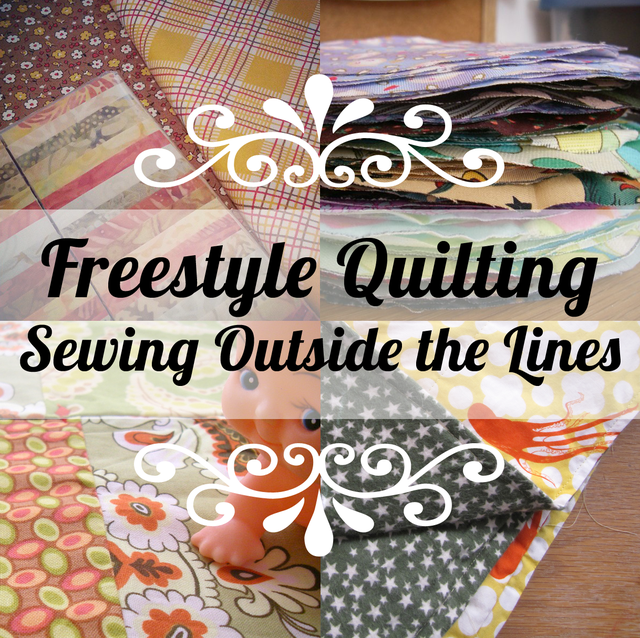 Freestyle Quilting: Sewing Outside the Lines | Mary Makes Pretty