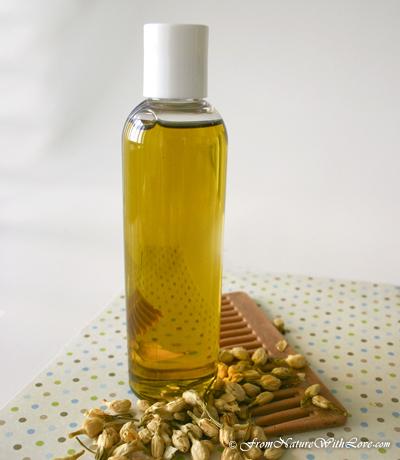 Jasmine & Acai Berry Hair Oil | NaturalBeautyWorkshop.com