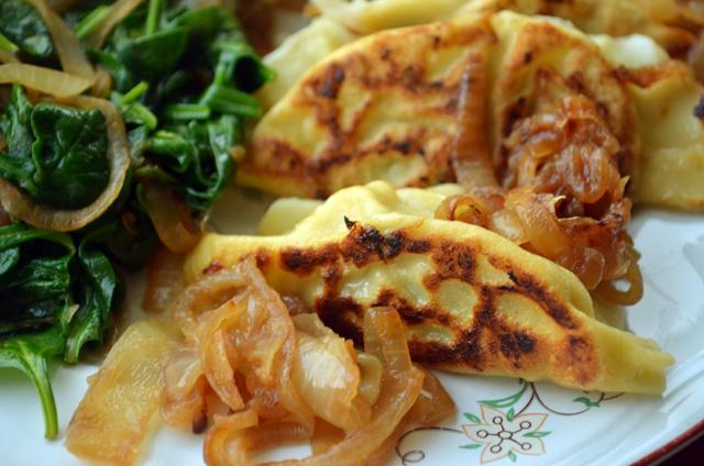 Parnsip Spring Onion Pierogis Recipe