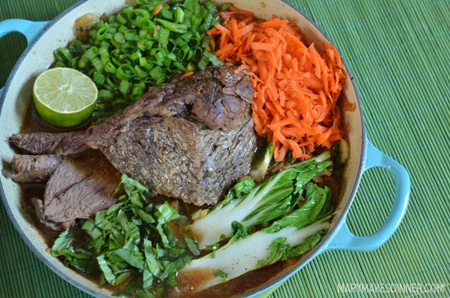 Ginger & Lemongrass Pot Roast Recipe | Mary Makes Dinner