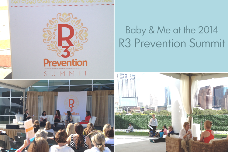 Working While Mama: Baby and Me at the R3 Prevention Summit