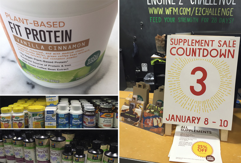 (Sponsored) Whole Foods Market stores nationwide will be doing a 3-day sale on supplements (25% off) Friday, January 8 – Sunday, January 10 2016