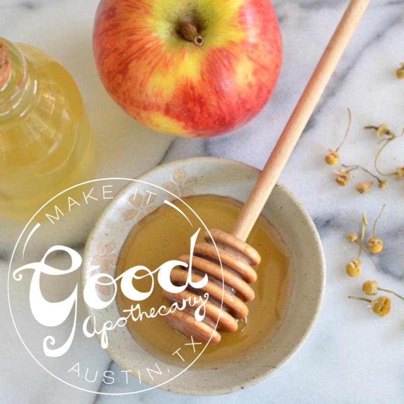 Apple Honey Toner - Make It Good Apothecary