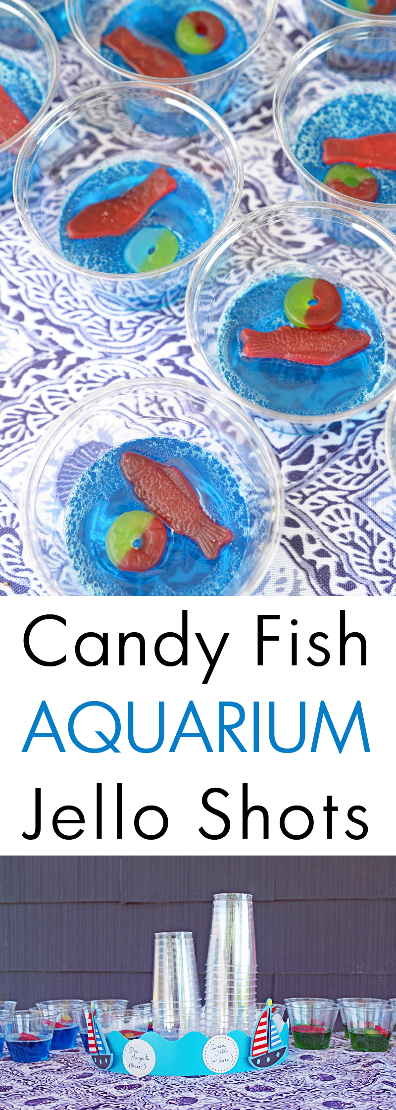 Candy Fish Aquarium Jello Shots