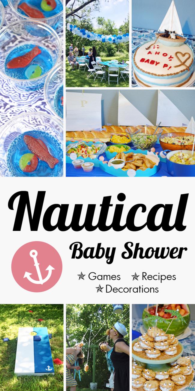 Heather & Ben's Nautical Baby Shower