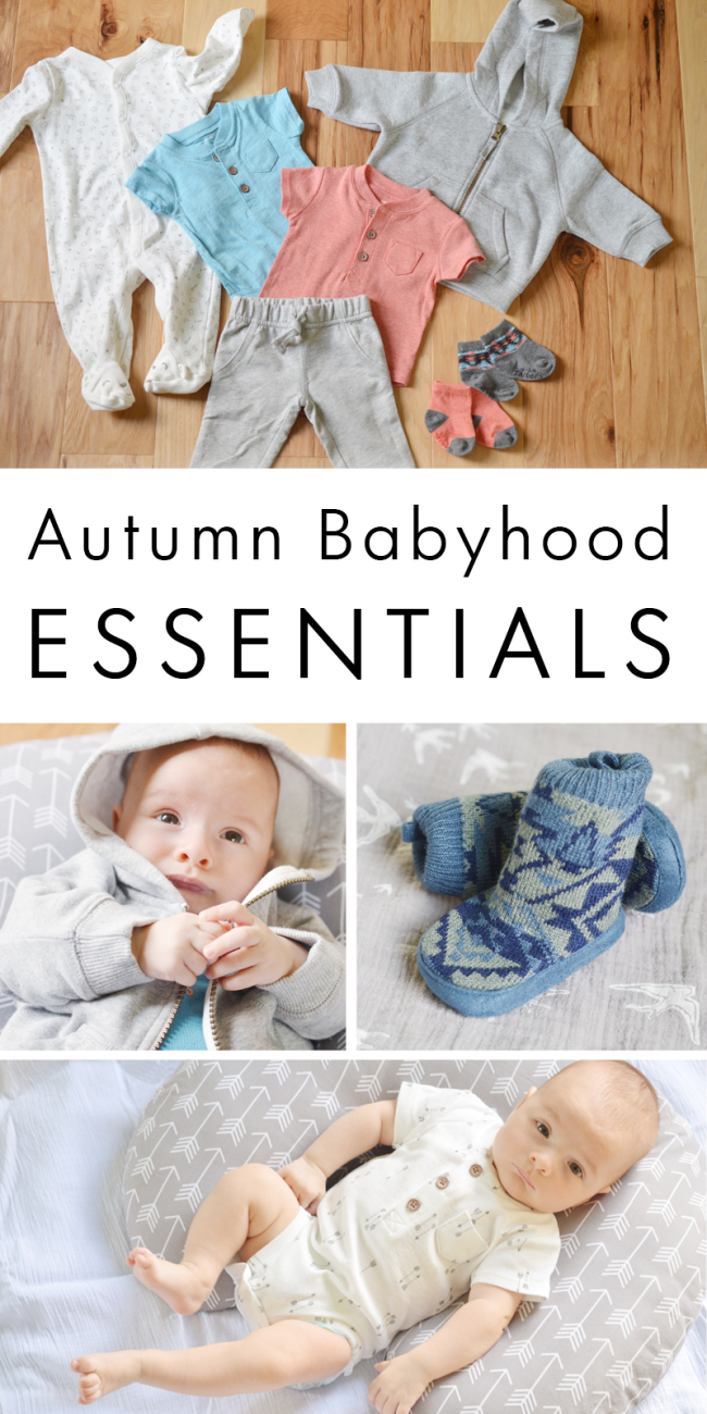 Autumn Babyhood Essentials with Carter's (and a Giveaway!)