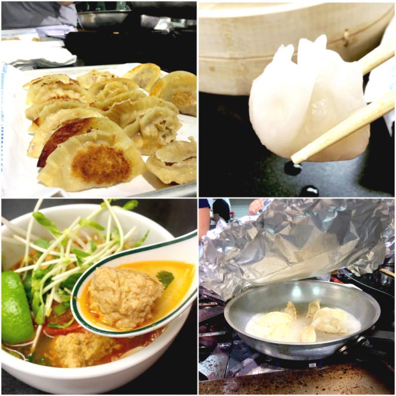 Asian Dumpling Class at Central Market with Sahar Arafat-Ray