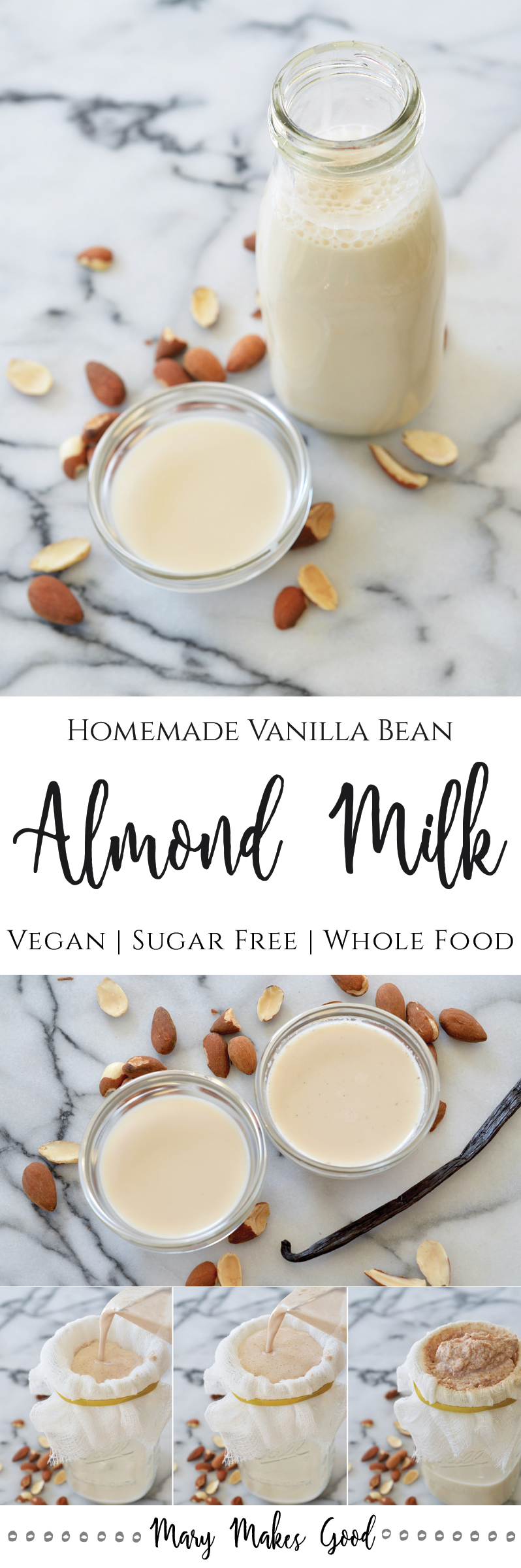 Vanilla Bean Almond Milk