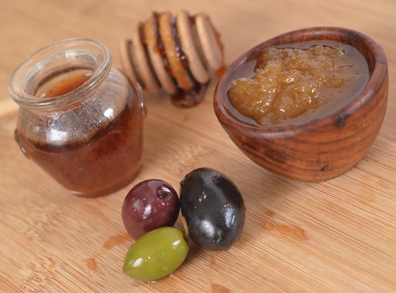 Olive Honey Lip Scrub