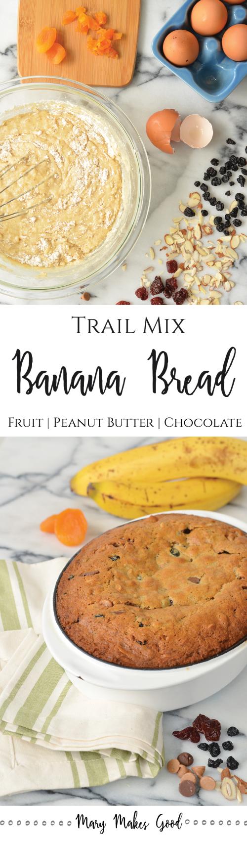 Trail Mix Banana Bread B