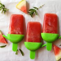 Watermelon Mojito Popsicles