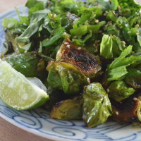 Sweet Sesame Brussel Sprouts Recipe