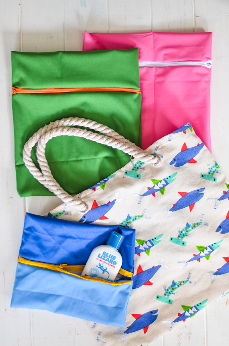 Make Your Own Wet Bags for Swimsuits and Aquatic Adventuring! (A simple sewing tutorial)