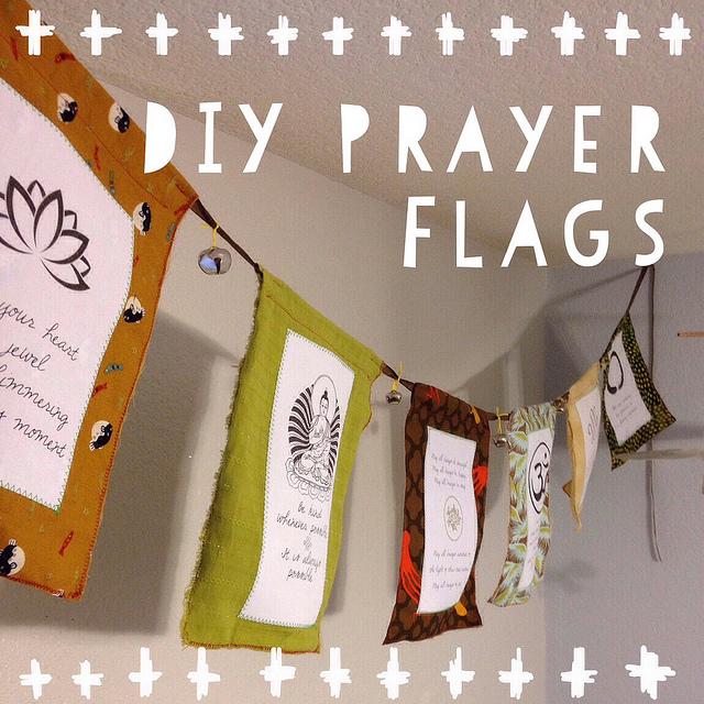 DIY Prayer Flags Tutorial | Mary Makes Pretty