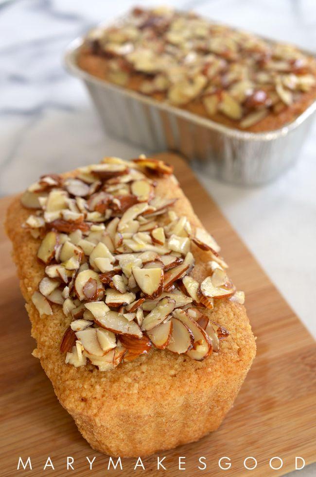 Whole Grain Mini Almond Pound Cakes with Bob's Red Mill