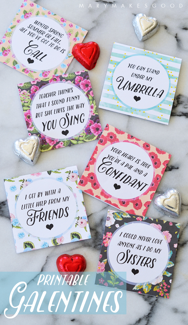Galentines Day Cards