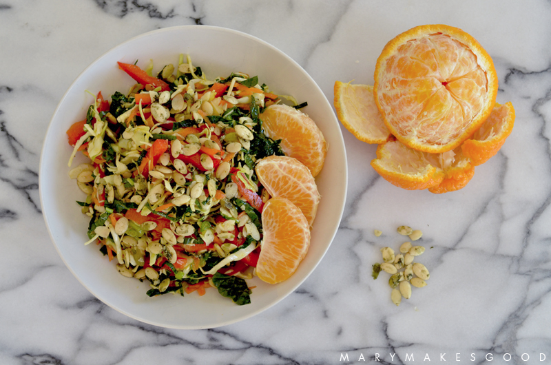 Mandarin Sesame Chopped Salad