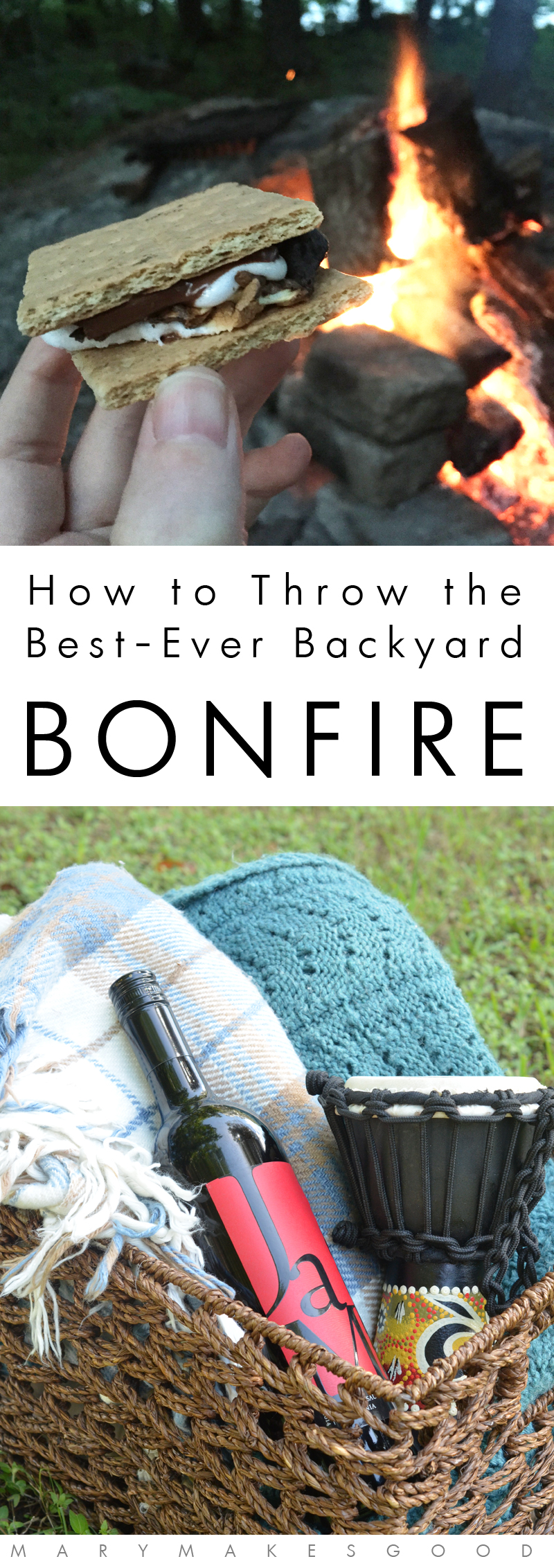 How To Throw The Best Ever Backyard Bonfire With JaM Cabernet