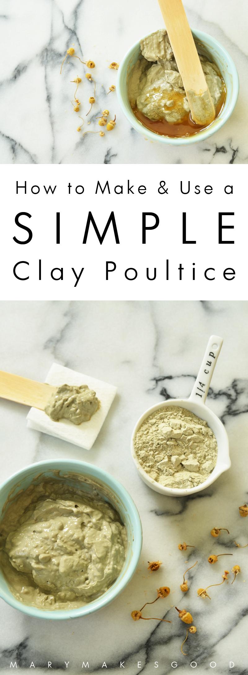Clay Poultice Recipe