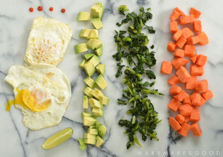 Heat & Eat Sweet Potato Breakfast Bowl