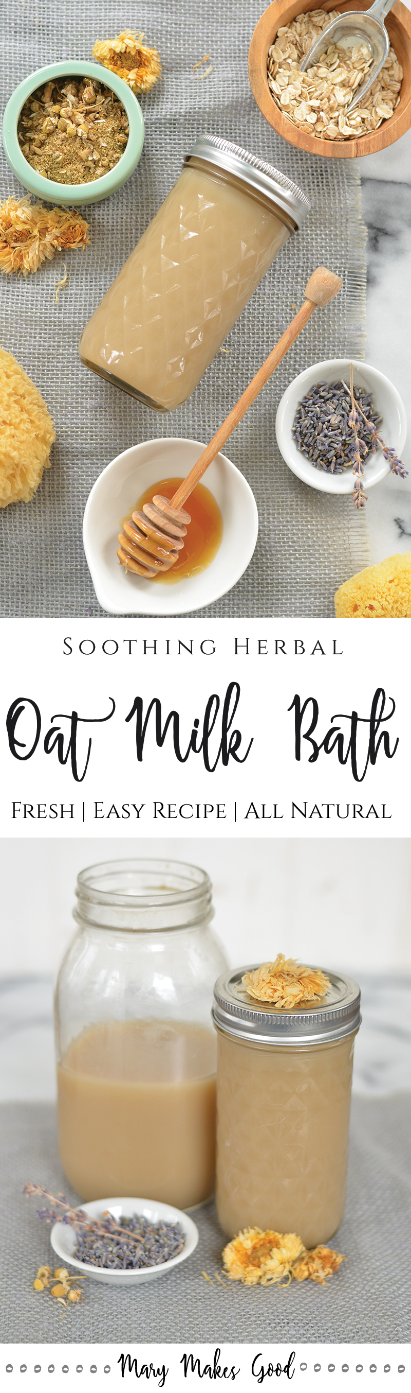 Herbal Oat Milk Bath