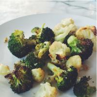 Roasted Broccoli & Cauliflower