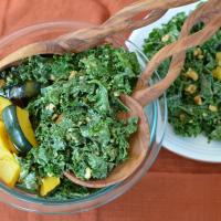 Lemon Cashew Ceasar Salad